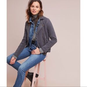 Cotton Moto Jacket by Marrakech for Anthropologie